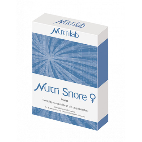 Nutri SNORE MUJER